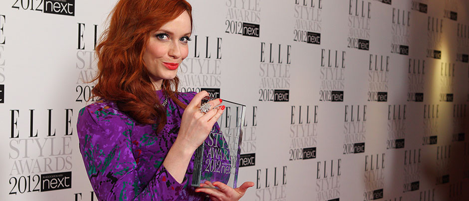 Elle Style Awards 2012: Christina Hendricks