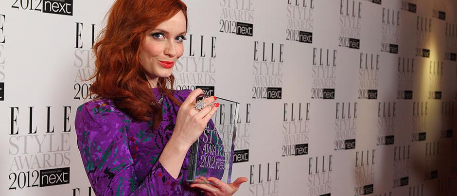Elle Style Awards 2012: Christina Hendricks