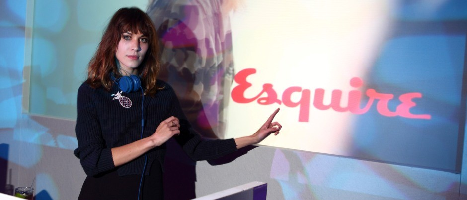 Esquire and Mr Porter: London Collections Men Closing Party AW 2012: Alexa Chung